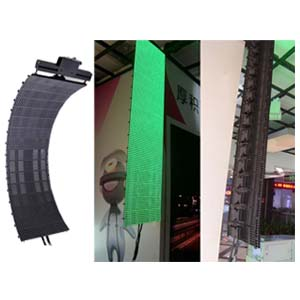Outdoor P10 SMD Flexible LED Curtain Screen